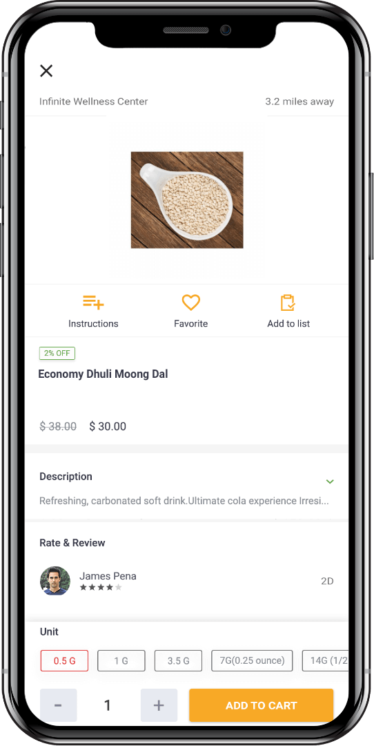 online grocery shopping software