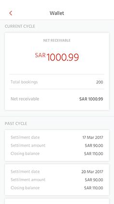 roadyo driver app invoice