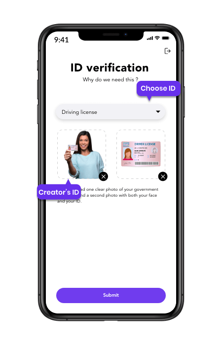 onlyfans clone mobile creator's verification