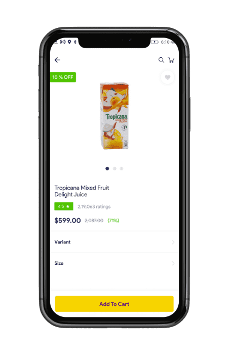 multistore grocery shopping software- product description